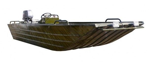 Купить пластиковую плоскодонку лодку для рыбалки