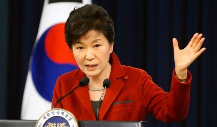 Президент Южной Кореи Пак Кын Хе сложила свои полномочия