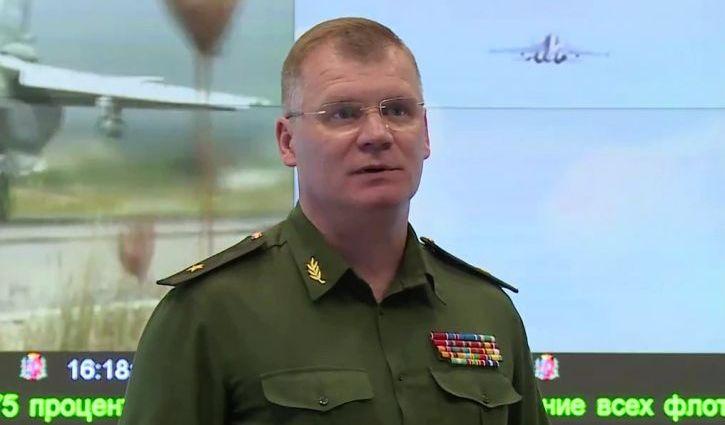 Конашенков считает, что оставленное в Пальмире оружие опасности не несет
