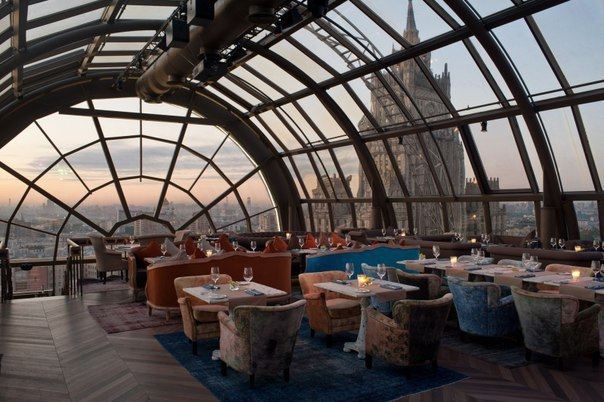 рестораны москвы с панорамным видом